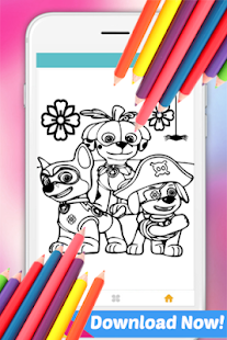 Learn Paint for Paw Patrol Fans - náhled