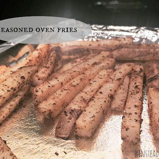 Seasoned Oven Fries