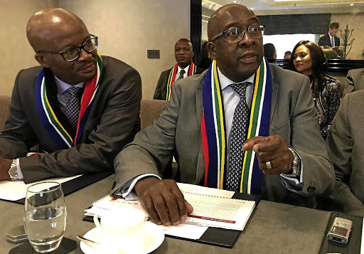 Upbeat: Finance Minister Nhlanhla Nene said the growth forecast would likely be increased due to improved consumer and business confidence. Picture: REUTERS