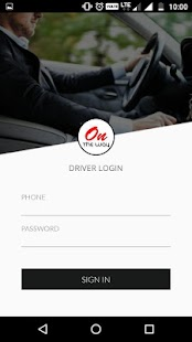 ondway - The Driver App - náhled