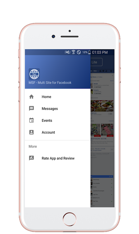 PC View for Facebook - Desktop Browser – (Android Apps) — AppAgg