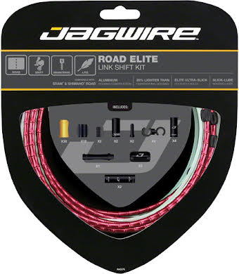 Jagwire Road Elite Link Shift Cable Kit with Ultra-Slick Uncoated Cables alternate image 4