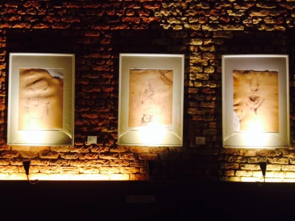 art exhibition in shophouse