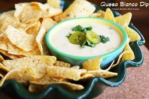 "Slow Cooker Queso Blanco Dip ""This queso blanco dip is awesome when..."