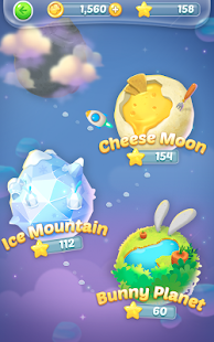 Bubble spinner : space bunny- screenshot thumbnail