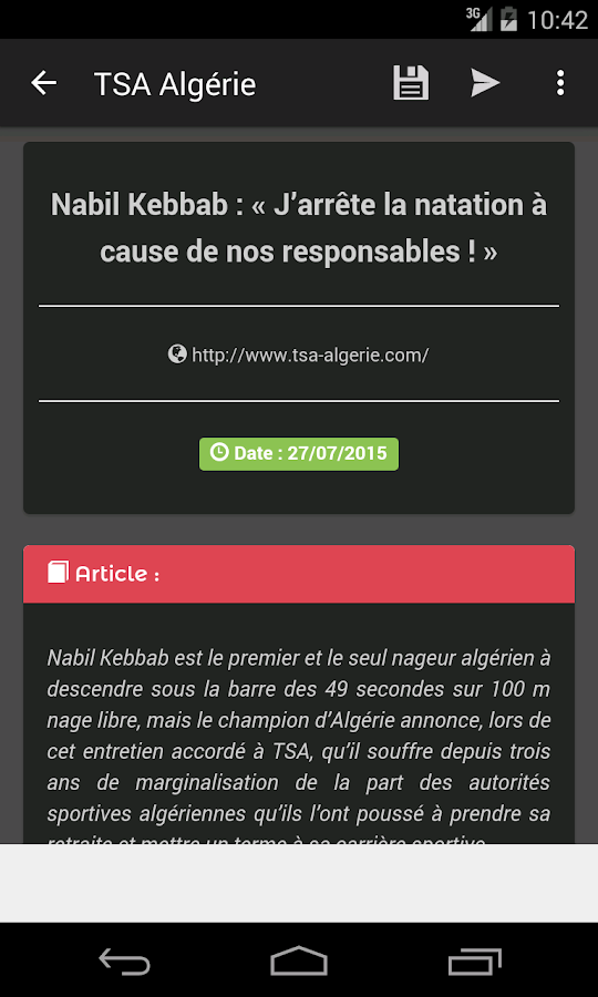 JNews DZ - Algerian Newspapers- screenshot