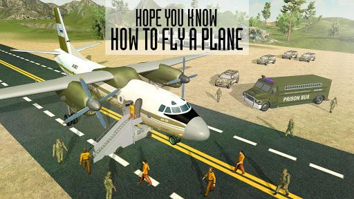 Army Criminals Transport Plane apkdomains screenshots 1