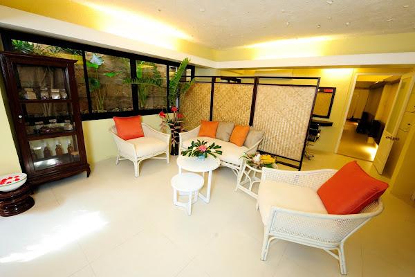 Welcome area at Phra Nang Spa
