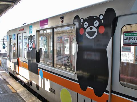 熊本電気鉄道 01形電車 上熊本駅にて その5