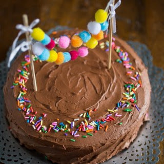 Easy Whipped Chocolate Frosting.