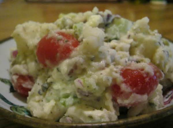 I Had Never Eaten Greek Potato Salad Before, Nor Did I Know What I Was Missing!...it Is Relatively Healthier Than Other Potato Salads, Not To Mention That The Greek Marinate Is Fabulous.  I Will Be Making This For Years To Come Since It Is One Of My New Justapinch.com Favorites.  Thanks For The Recipe, Colleen, I Loved It.