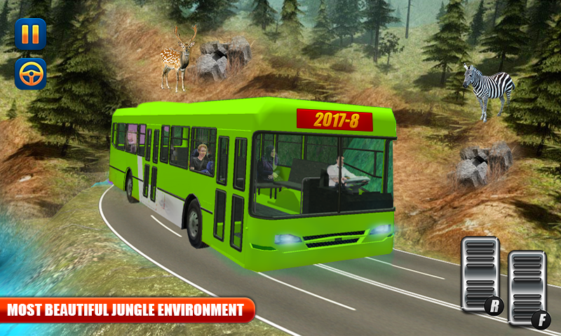 OffRoad Tourist Bus Simulator Drive 2017- screenshot
