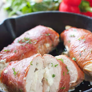 Prosciutto Wrapped Chicken Breasts.