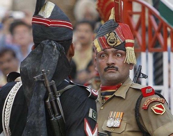 Flag Retreat At Wagah, Flag Retreat Ceremony, Wagah Border