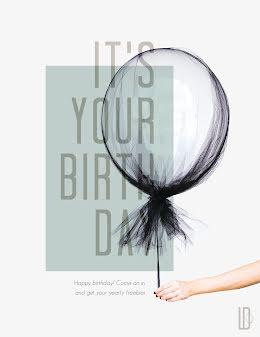BDay Freebie - Birthday Flyer item