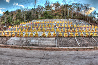 Photo: Laos Reisen, Wat Phu Sa Lao Pakse