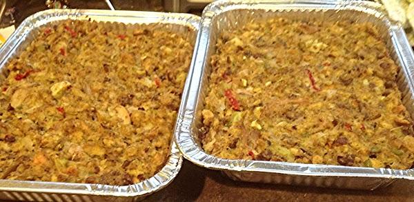Sausage Apple & Mushroom Stuffing Recipe