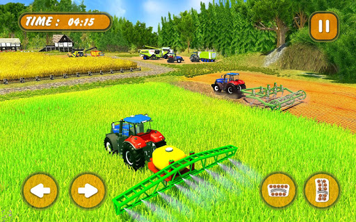 mod Grand Tractor Forage Farming Simulator 2018 3D 1.0 screenshots 3
