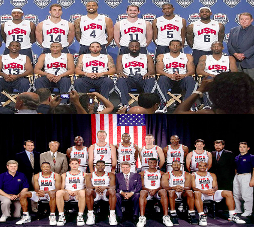 which dream team is better is a waste of time
