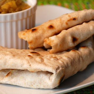 Roti Flatbread - West Indian Style Paratha Roti