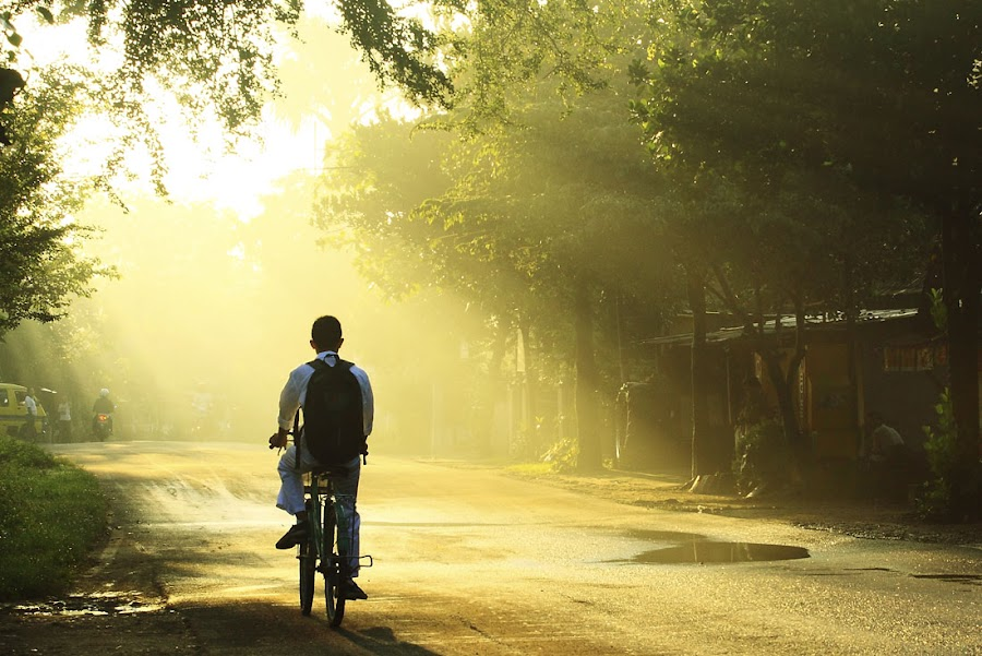 Ray of future by Muhasrul Zubir - People Street & Candids