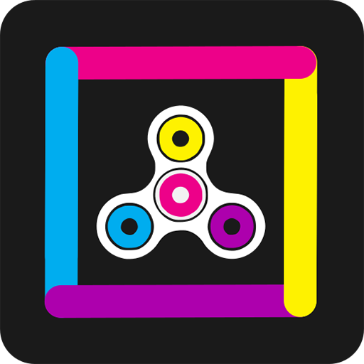 Color Fidget Spinner Switch
