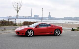 Ferrari 360 Rent Midtjylland