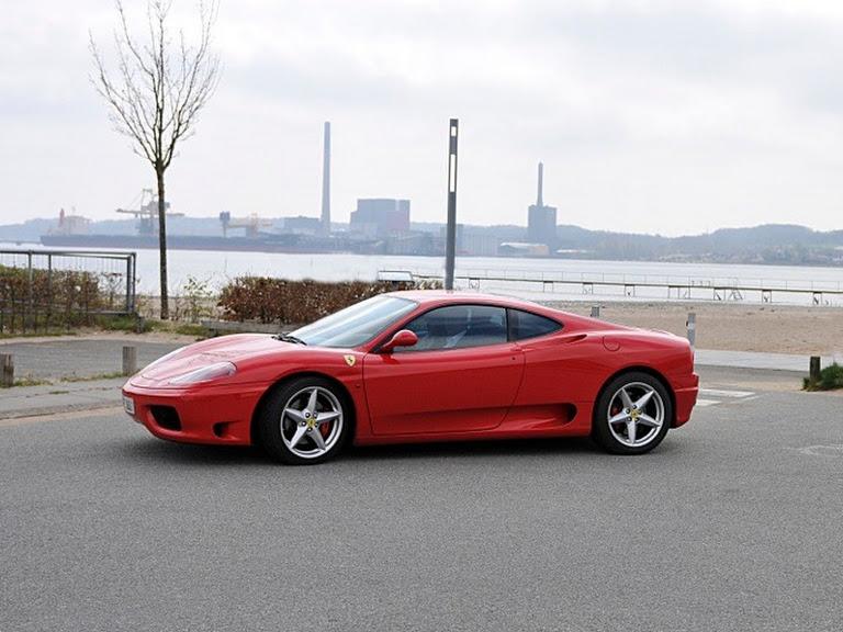 Ferrari 360 Hire Padborg