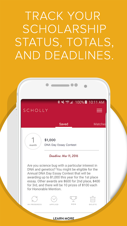 Scholly - Android Apps on Google Play