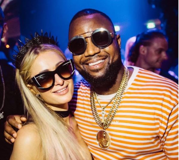Cassper still can't believe the love he got from Paris Hilton