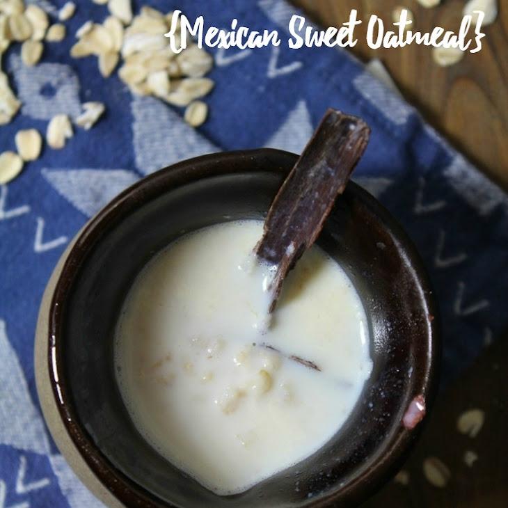 Atole Do Avena (Mexican Sweet Oatmeal) Recipe