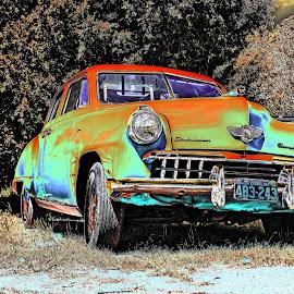 by JEFFREY LORBER - Digital Art Things ( studebaker, rust 'n chrome, vintage car, car, lorberphoto )