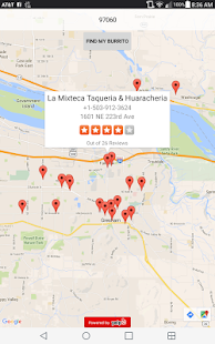 My Burrito Finder- screenshot thumbnail