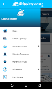 Shipping Career  Best Seafarer Job Portal- screenshot thumbnail