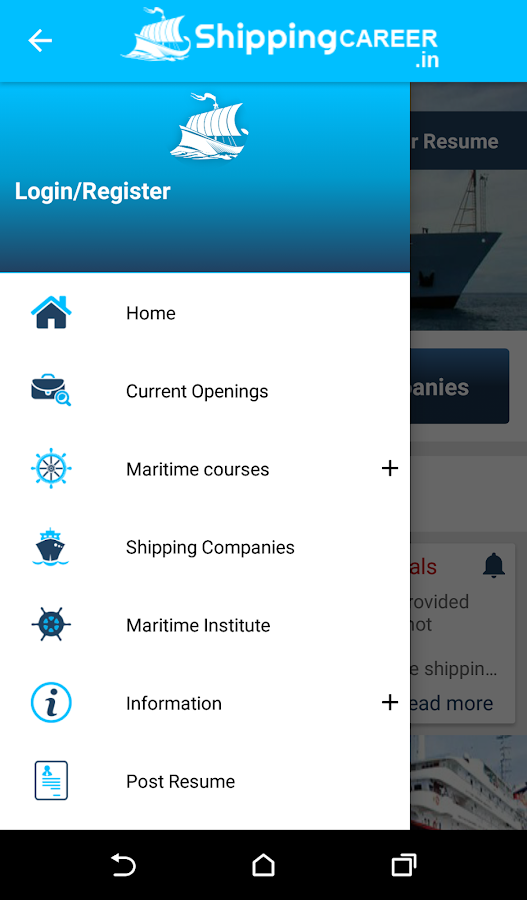 Shipping Career  Best Seafarer Job Portal- screenshot