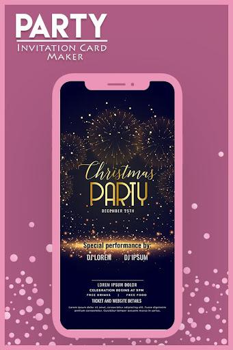 Download Party Invitation Card Maker Card Design Invites