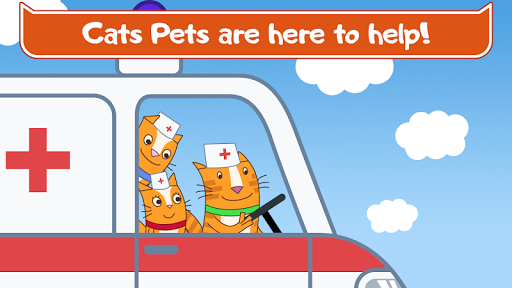 Cats Pets Animal Doctor Games for Kids! Pet doctor  screenshots 1