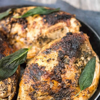 Slow Cooker Sage Butter Chicken with Lemon Pasta Recipe