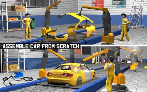 Car Maker Factory Mechanic Sport Car Builder Games 1.12 screenshots 9