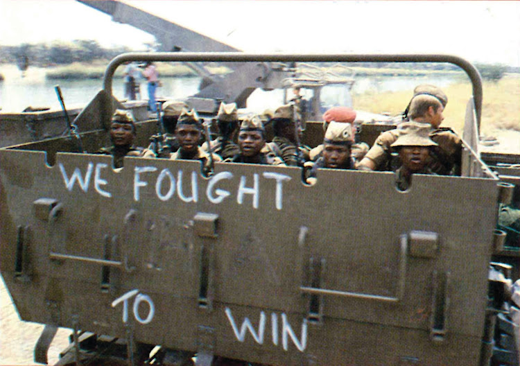 Bushmen of the SADF's 201 Battalion played an important role in the war. Although they operated as machinegunners, drivers, signallers, medics and mortarmen, their most remarkable skill was tracking, following nigh-on invisible spoor at great speed.