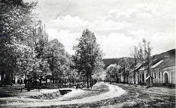 Photo: Mestský park z 20- tych rokov minulého storočia.