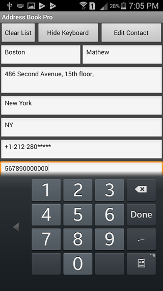Address Book Pro Screenshot 3
