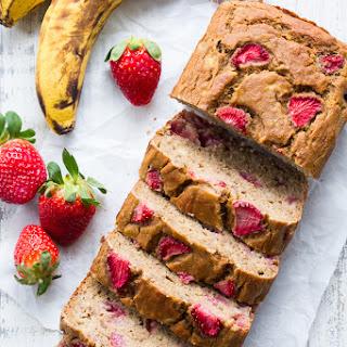 Strawberry Banana Bread with Cassava Flour {Paleo, Nut Free} Recipe