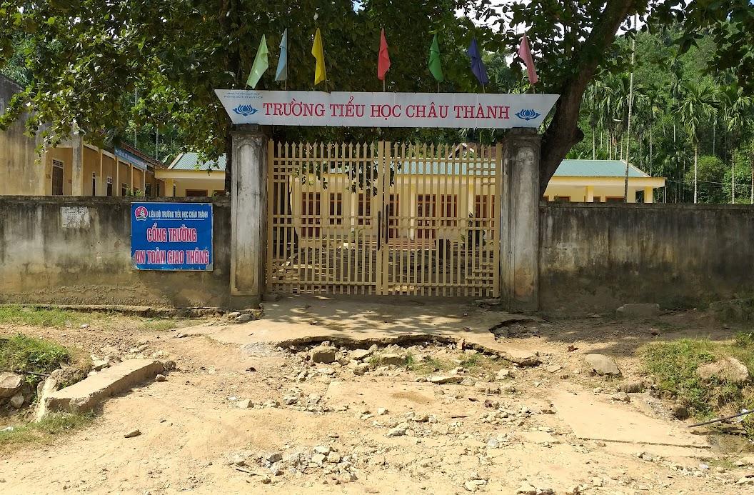 Trường Tiểu học xã Châu Thành, huyện Quỳ Hợp (điểm trường bản Cải)