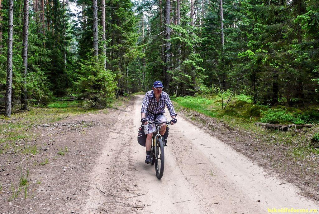на велосипеде вдоль Тьмы