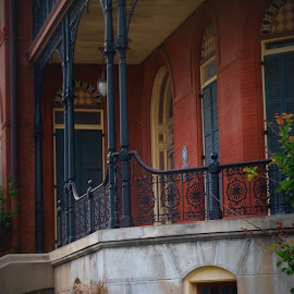 Wrought iron by Brenda Shoemake - Buildings & Architecture Architectural Detail