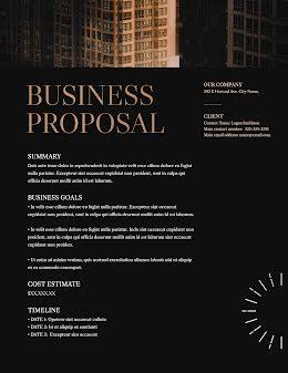 Lofty Proposal - Business Proposal item