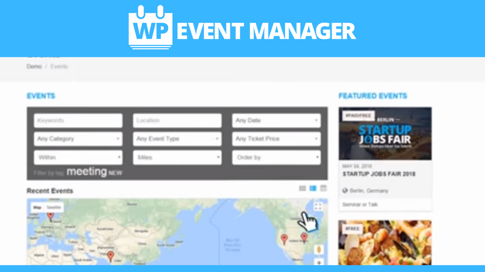 WP Event Organiser