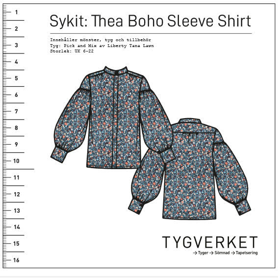 Sykit: Thea Boho Sleeve Shirt + Pick and Mix