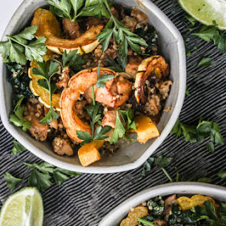 Chanterelle Mushroom And Kale Salad With Lime-tahinie Sauce